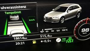 Audi A4 B9 Nachrüsten : audi a4 b9 verkehrszeichen erkennung zeitliche youtube ~ Jslefanu.com Haus und Dekorationen