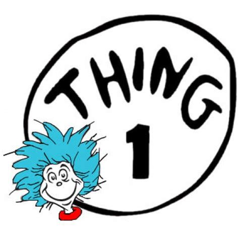 thing one t shirt template dr seuss thing 1
