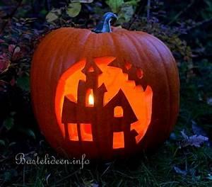 Halloween Kürbis Motive : halloweenbasteln mit k rbissen spukhaus k rbis ~ Eleganceandgraceweddings.com Haus und Dekorationen