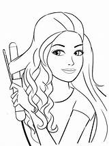 Barbie Coloring Pages Cool Uploaded User Adult sketch template