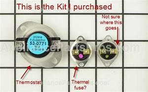 Maytag  Maytag Performa Dryer Thermal Fuse