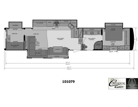 two bedroom fifth wheel 2 bedroom 5th wheel floor plans camper rv floor plans 17659 | 2927ec95f7568782955c08d11c453b70