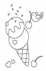 Ice Cream Coloring Pages Printable Delicious Bestcoloringpagesforkids sketch template