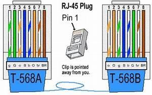 Rj 45 Connection Diagram
