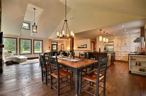 country kitchen rustic dining room montreal by