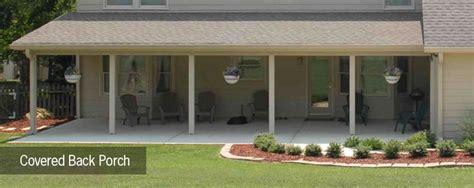 Back Porch Designs For Houses by Back Porch Ideas Back Porch Plans Design Porches