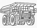 Coloring Pages Dump Truck Printable Pickup Drawing Plow Realistic Template Landfill Snow Printables Titan Posted Getcolorings sketch template
