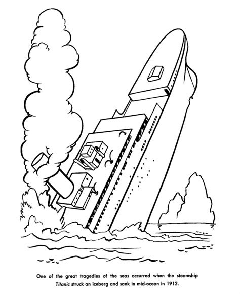 titanic coloring pages titanic coloring pages for print and color the