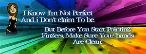 I Know I M Not Perfect Fb Cover Ocean
