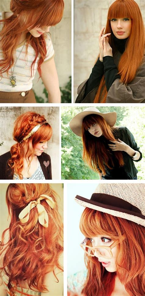 Best 25 Red Orange Hair Ideas On Pinterest Fire Red