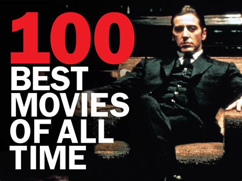 Checklist The 100 Best Movies Of All Time Ranked And Reviewed
