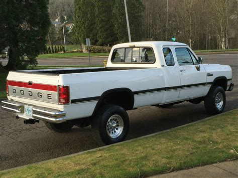 1993 Dodge Ram 2500 4x4 Extra Cab Cummins Diesel First Gen
