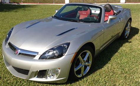 find   convertible saturn sky red  turbo