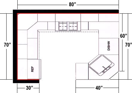 g shaped kitchen floor plans afreakatheart
