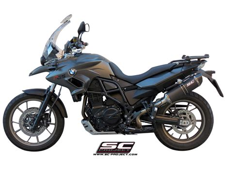 Escape Scproject Oval Para Bmw F700 Gs