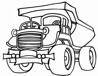Coloring Construction Pages Vehicles