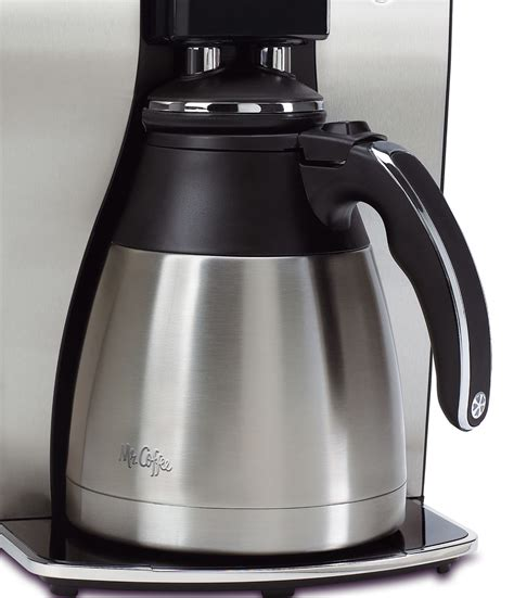 A:answer this is my second mr. Mr. Coffee® Optimal Brew™ 10-Cup Programmable Coffee Maker with Thermal Carafe, BVMC-PSTX91-RB ...