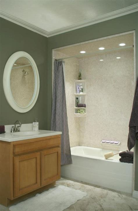 Tub Enclosure Ideas by Design As Well As Paint The Bathtub Surrounds Bathroom