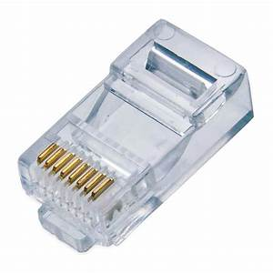 Conector De Red Rj45 Cat 5 Niu