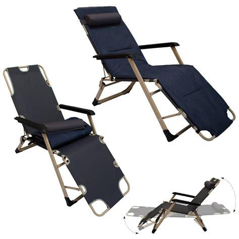 transat pliant mobilier portable
