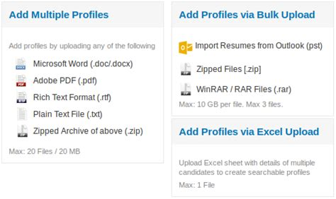 import resumes by bulk upload naukri engineering