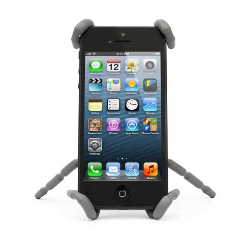 iphone stand iphone stand cradle and phone car mount holder by breffo
