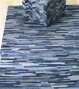 Recycled Denim Jeans Rug