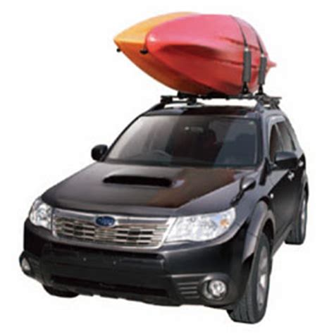 kayak rack for suv inno easy mount dual kayak carrier with