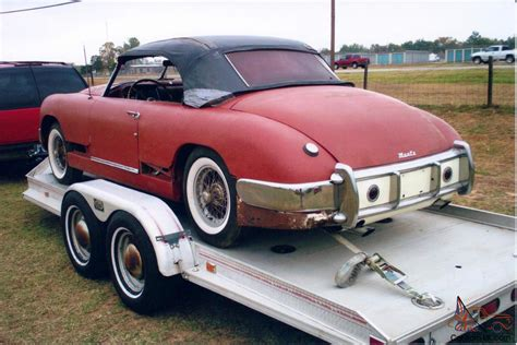 Cool Old Classic Car 1950 Muntz Jet Convertible Rare