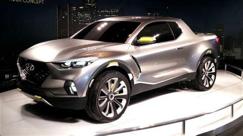 Hyundai Santa Cruz Crossover Pickup Truck Concept
