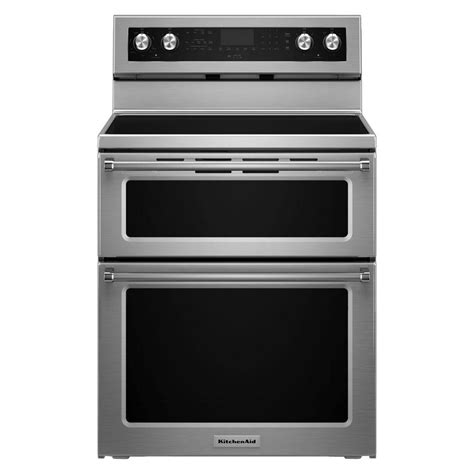 Kitchenaid 30 In 67 Cu Ft Double Oven Electric Range. Interior Design For Kitchen And Dining. Home Kitchen Designs. Kitchen Island Designs Plans. Corner Kitchen Cabinets Design. New Kitchen Design Trends. Open Kitchen Floor Plans Designs. Kitchen Layout Designs. Simple Kitchen Island Designs