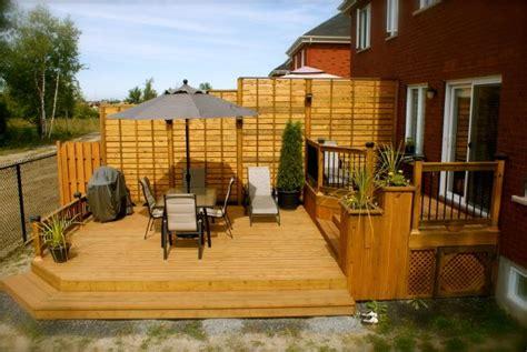 idee de patio en bois patio plus terrasses 224 paliers balcon idee terrasse
