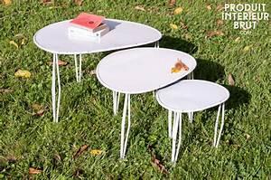 Table Basse Boheme : table basse gigogne tripoli int rieur boh me chic pinterest table basse gigogne table ~ Teatrodelosmanantiales.com Idées de Décoration