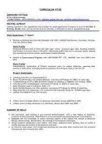microbiology resume format for freshers abhishek pathak cv
