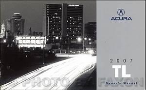 2007 Acura Tl Repair Shop Manual Original