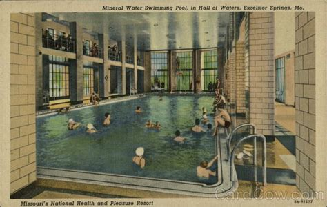mineral water swimming pool  hall  waters excelsior