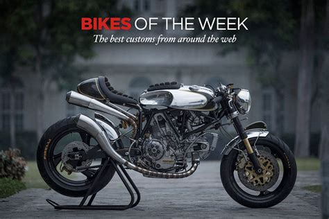 Cafe Racer : Custom Bikes Of The Week