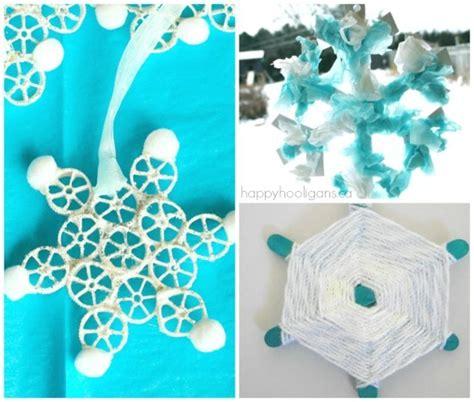 25 snowflake crafts activities and treats happy hooligans 502 | easy snowflake crafts