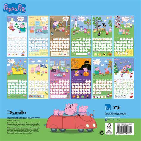 peppa pig calendars ukpostersabposterscom