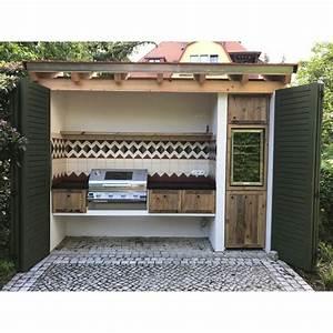 Grill überdachung Holz : 124 besten inspiration outdoork che bilder auf pinterest ~ Buech-reservation.com Haus und Dekorationen