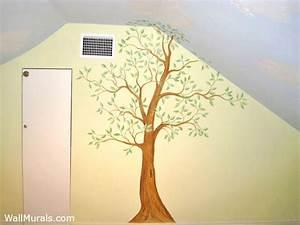 Tree Wall Murals - 50 Hand-painted Tree Wall Mural