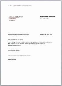 Vodafone Rechnung Ausdrucken : handyvertrag k ndigungschreiben kostenlose vorlagen ~ Themetempest.com Abrechnung