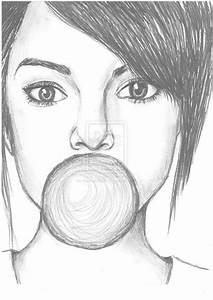 Image result for girl drawings tumblr easy | Drawings ...