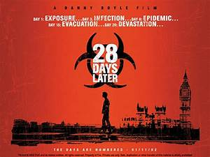 28 Days Later (2002) | Movie Poster and DVD Cover Art