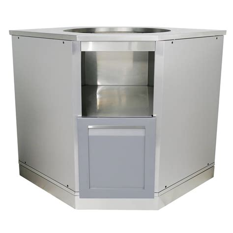 outdoor kitchen base cabinets 4 outdoor stainless steel insert kamado grill