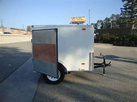 2014 Look Trailers 4x6 Small Cargo Trailer, New Cars For