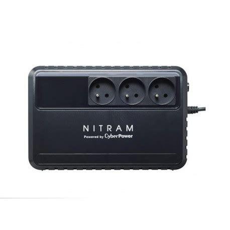 onduleur de bureau onduleur nitram 600 va