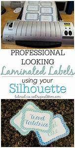 Laminated Labels with your Silhouette | Portrait ...