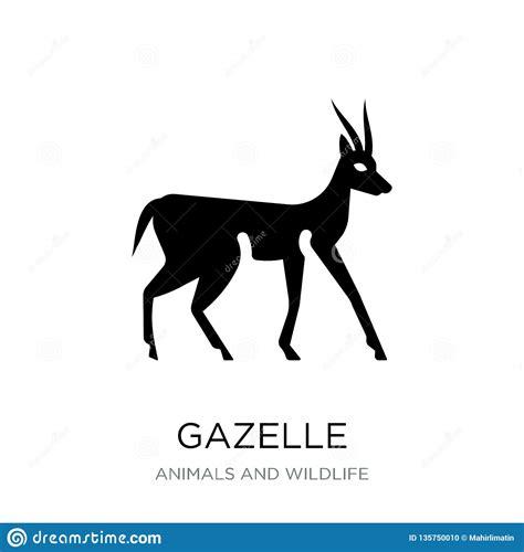 Antelope Silhouette Cliff Cartoon Vector