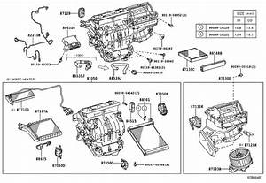 Lexus Ct 200h Blower Assembly  Conditioning  Heating  Air